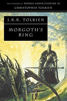 Morgoth's Ring book cover