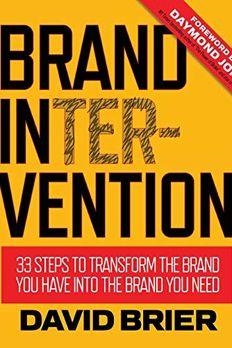 Brand Intervention book cover
