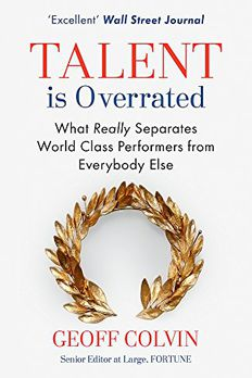 Talent is Overrated book cover