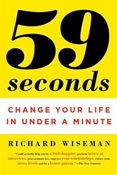 59 Seconds book cover