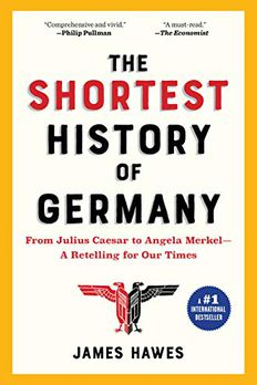 The Shortest History of Germany book cover
