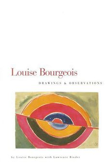 Louise Bourgeois book cover