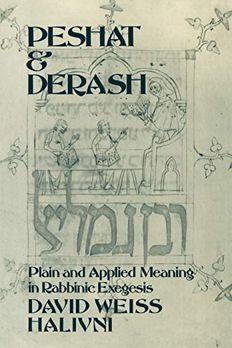 Peshat and Derash book cover