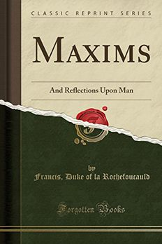 Maxims book cover