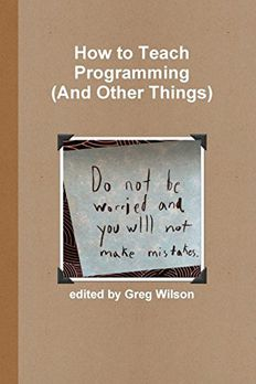 How to Teach Programming book cover