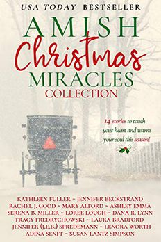 The Amish Author's Christmas book cover