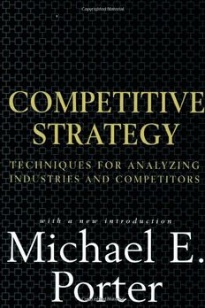 Competitive Strategy book cover