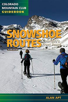 Snowshoe Routes book cover