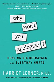 Why Won't You Apologize? book cover