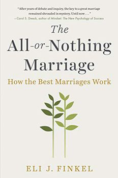 The All-or-Nothing Marriage book cover