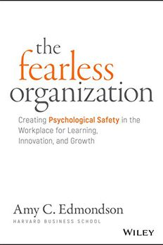 The Fearless Organization book cover