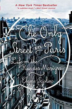 The Only Street in Paris book cover