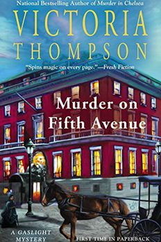 Murder on Fifth Avenue book cover