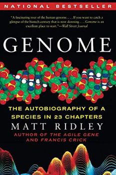 Genome book cover