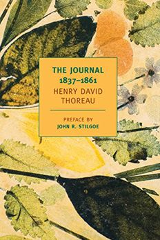 The Journal of Henry David Thoreau, 1837-1861 book cover