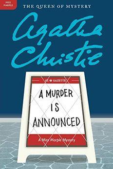 A Murder Is Announced book cover
