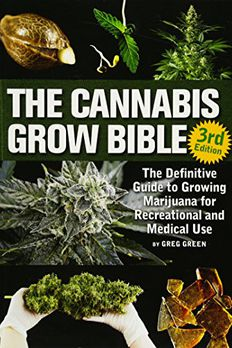 The Cannabis Grow Bible book cover