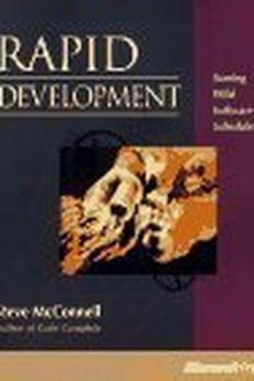 Rapid Development book cover