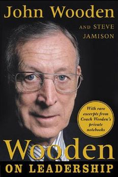 Wooden on Leadership book cover