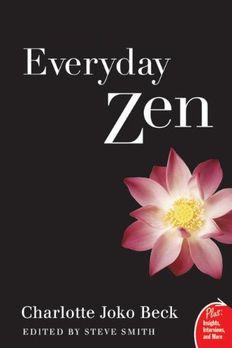 Everyday Zen book cover