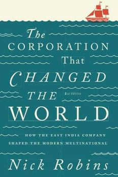 The Corporation That Changed the World book cover