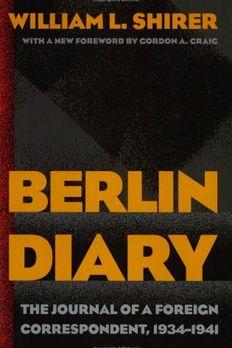 Berlin Diary book cover