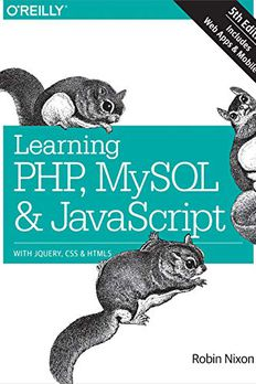 Learning PHP, MySQL & JavaScript book cover