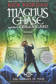 Magnus Chase and the Gods of Asgard, Book 2 The Hammer of Thor book cover