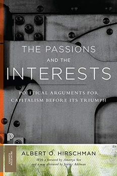 The Passions and the Interests book cover