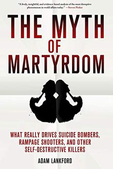 The Myth of Martyrdom book cover