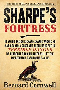 Sharpe's Fortress book cover