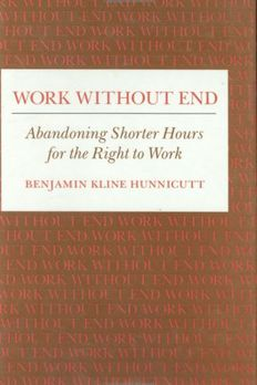 Work Without End book cover