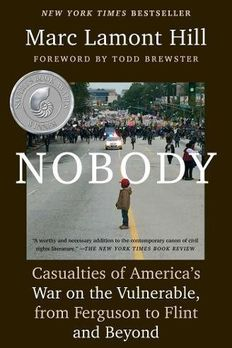 Nobody book cover