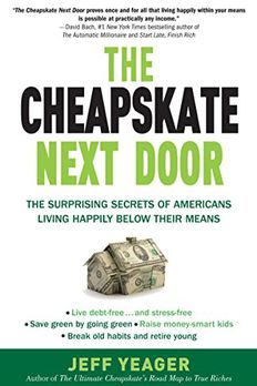 The Cheapskate Next Door book cover