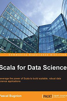 Scala for Data Science book cover