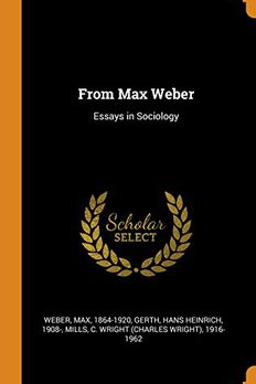 From Max Weber book cover