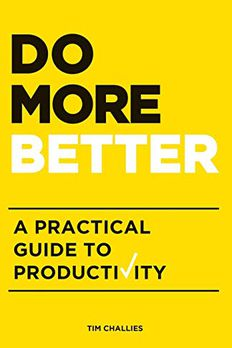 Do More Better book cover