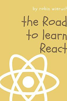 The Road to learn React book cover
