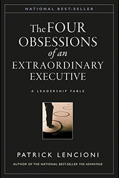 The Four Obsessions of an Extraordinary Executive book cover