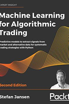Machine Learning for Algorithmic Trading book cover