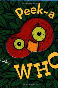 Peek-A Who? book cover