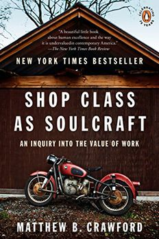 Shop Class as Soulcraft book cover