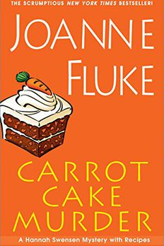 Carrot Cake Murder book cover
