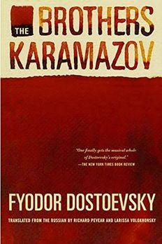 The Brothers Karamazov book cover