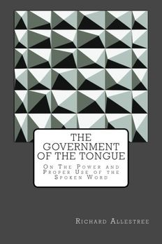 The Government of the Tongue book cover