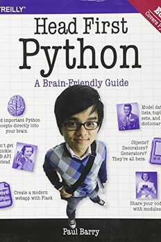 Head First Python book cover