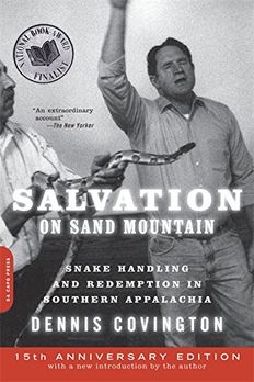 Salvation on Sand Mountain book cover