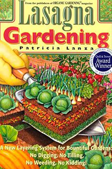 Lasagna Gardening book cover