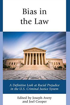 Bias in the Law book cover