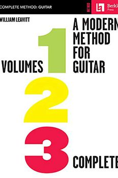 A Modern Method for Guitar book cover